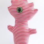 striped beastie with one eye