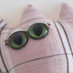 Pink Plaid Eyes